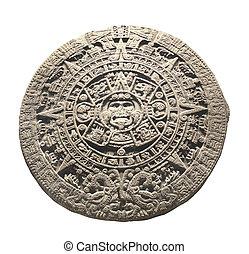 石, 古代, カレンダー, aztec