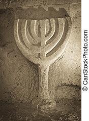 石, 古代, menorah