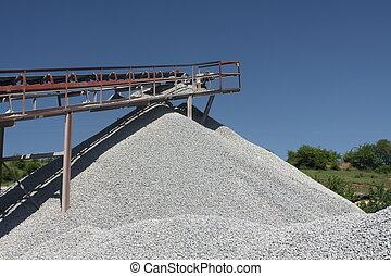 石, 採石場