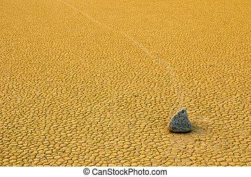 石, 死, 航海, 競技場playa, カリフォルニア, 谷