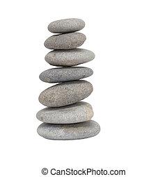 石, 白, 背景