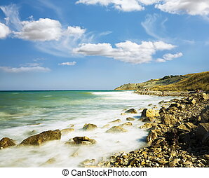 石, 空, 海