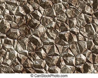 石, 表面