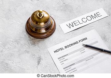 石, 部屋, 形態, ホテル, ペン, 背景, 予約, リング, 予約