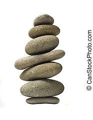 石, 隔離された, 山, バランスをとられた, タワー, ∥あるいは∥
