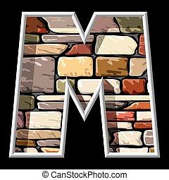石, m, 手紙