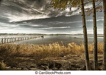 码头, 湖