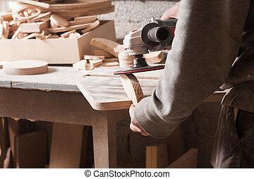 砂まき装置, 木