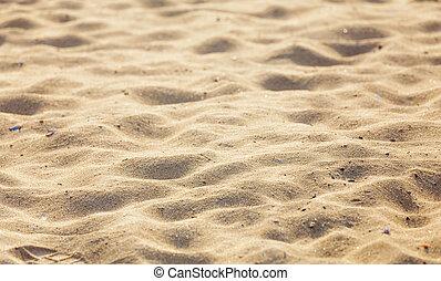 砂ビーチ, 背景