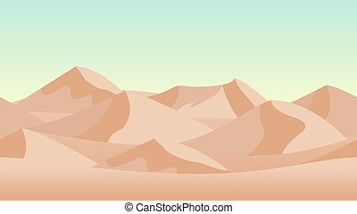 砂丘, バックグラウンド。, 砂, 砂漠の 景色