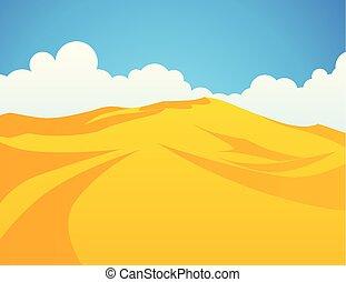 砂丘, 砂, 砂漠