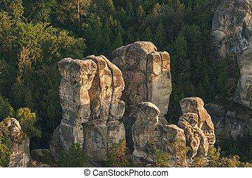 砂岩, 岩