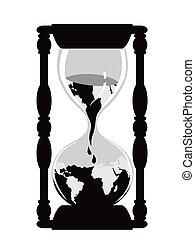 砂時計, 地球