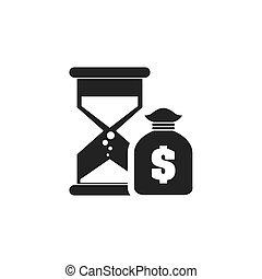 砂時計, 金融, アイコン