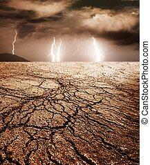 砂漠, 嵐