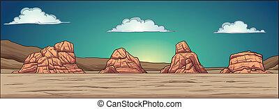 砂漠, 背景