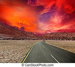 砂漠, 道