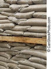 砂袋, ∥において∥, a, 建築現場
