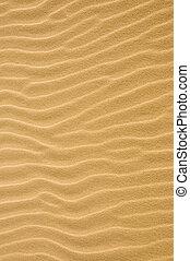 砂, さざ波を起こされた