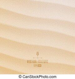 砂, ベクトル, 手ざわり