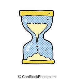 砂, 漫画, タイマー, 砂時計