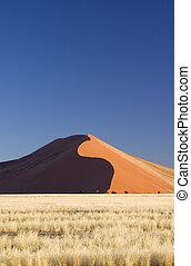 砂 砂丘, ナミビア, sossusvlei