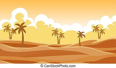 砂, 背景, 木, 現場