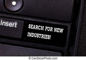 研究する, キーパッド, 写真, 印, アイロンかけ, キーボード, メッセージ, ファインド, 作成しなさい, intention, 他, テキスト, 概念, 新しい ビジネス, モデル, 提示, キー, industries., 捜索しなさい, idea., コンピュータ