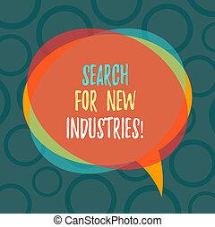 研究する, ビジネス, モデル, 写真, 提示, 捜索しなさい, 山, overlapping., 執筆, メモ, 他, スピーチ, ブランク, showcasing, 新しい, 円, industries., 泡, ファインド, 透明