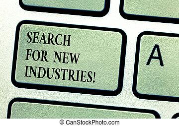 研究する, 概念, ビジネス, キーパッド, モデル, テキスト, 作成しなさい, industries., 捜索しなさい, idea., intention, 意味, コンピュータメッセージ, キー, キーボード, 新しい, 手書き, 他, ファインド, アイロンかけ
