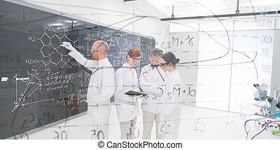研究, 實驗性, 實驗室, 人們