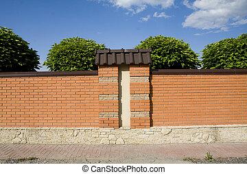 砖, 栅栏