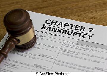 破産, 章, 7