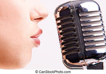 破裂音の歌手