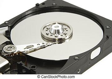 硬盤驅動器, 裡面, 為, 數据, 恢復