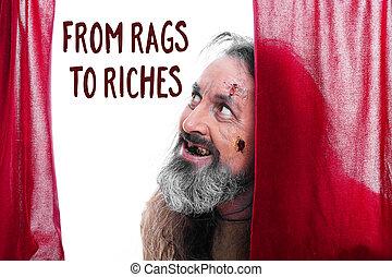 碎布, 财富