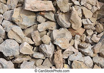 碎石, 背景