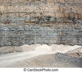 碎石, 采石場