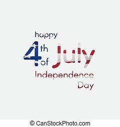 碑文, アメリカ, 4, 7月, 日, 独立