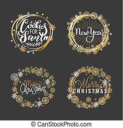 碑文, ホリデー, 願い, メリークリスマス, 幸せ