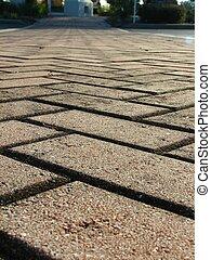 磚, 車道