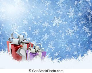 礼物, 圣诞节
