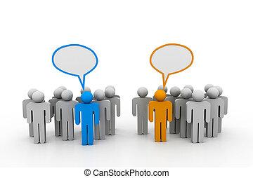 社会, ネットワーキング, 人々