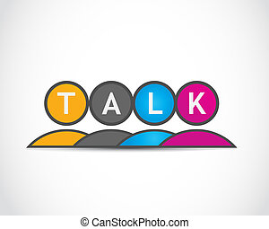 社会, 媒介, 谈话, 团体