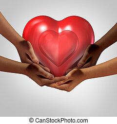 社会, 愛, 世界的である