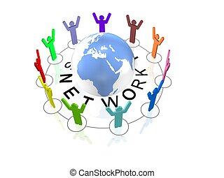 社会, 网络