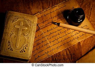 祈とう書, 古い手紙