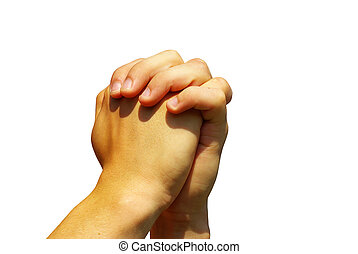 祈とう, 手