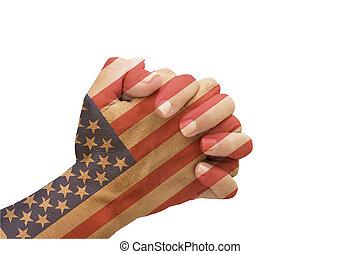 祈ること, アメリカ
