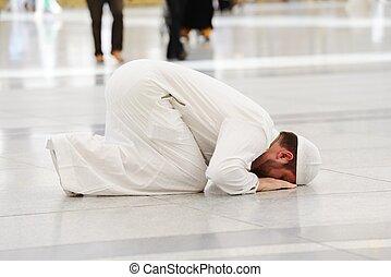 祈ること, モスク, medina, muslim